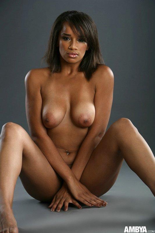 Black beauty with big nipples