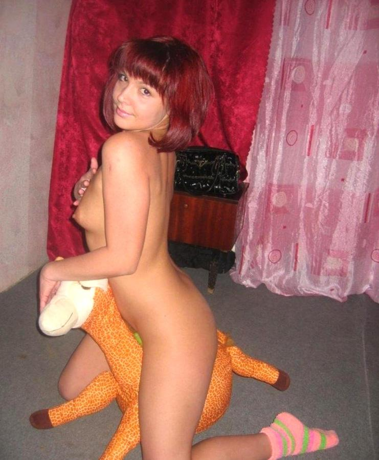 Naked amateurs with mascots - 11