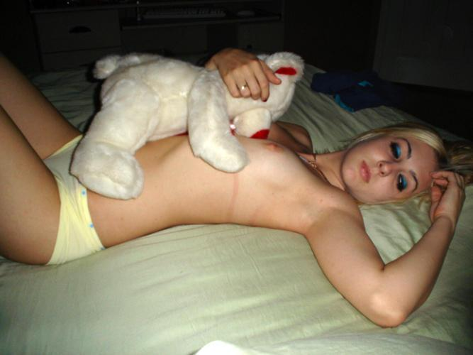 Naked amateurs with mascots - 17