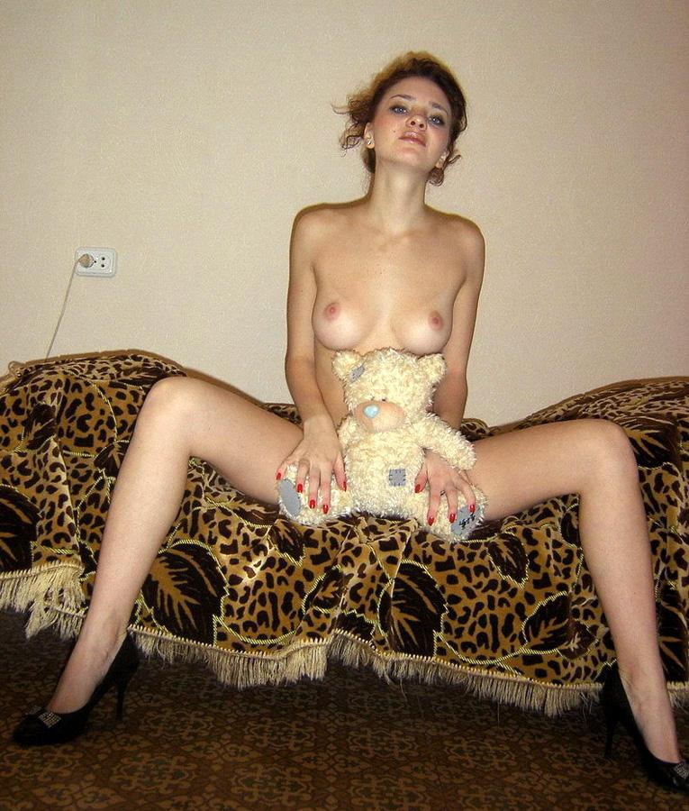 Naked amateurs with mascots - 4