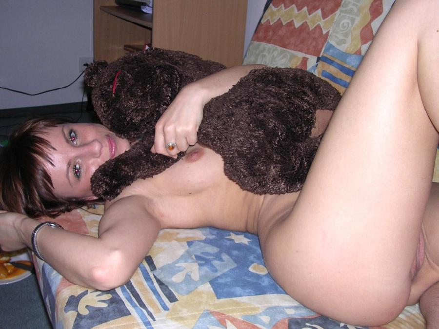Naked amateurs with mascots - 8