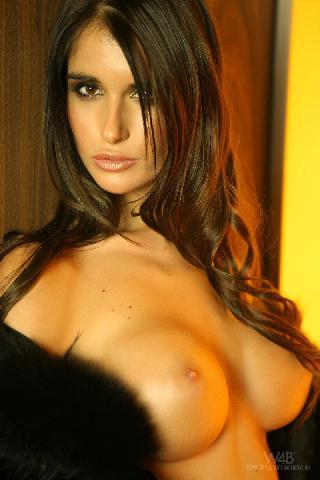 Amazing hot brunette