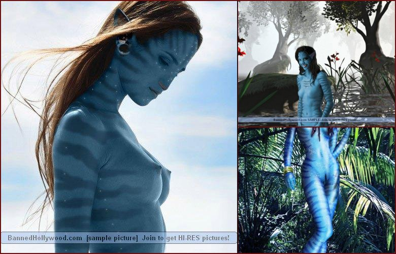 Naked avatar blue girls - 41