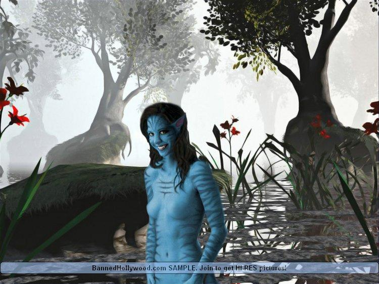 Naked avatar blue girls - 2