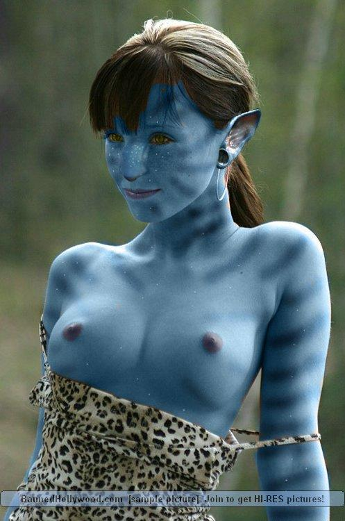 Naked avatar blue girls - 6