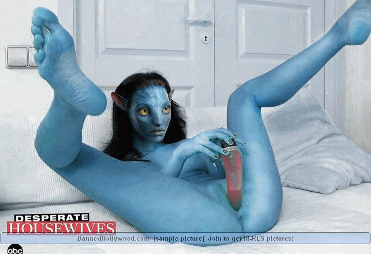 Naked avatar blue girls - 7