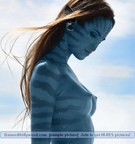 Naked avatar blue girls - 8
