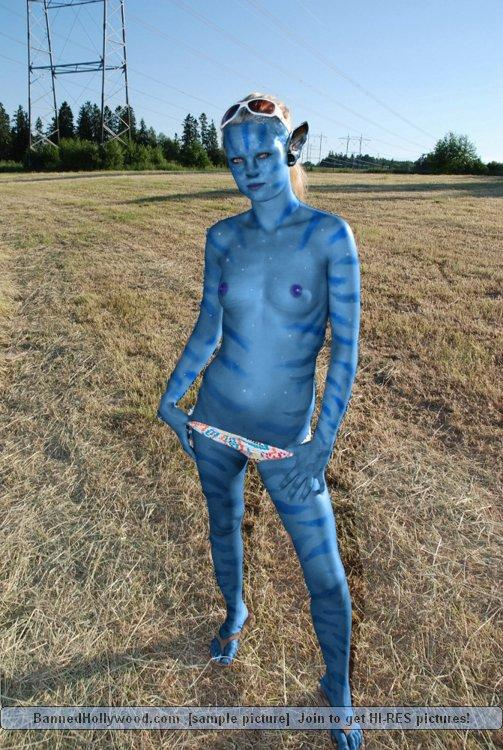 Naked avatar blue girls - 9