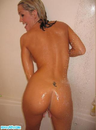 Pretty amateur take a shower