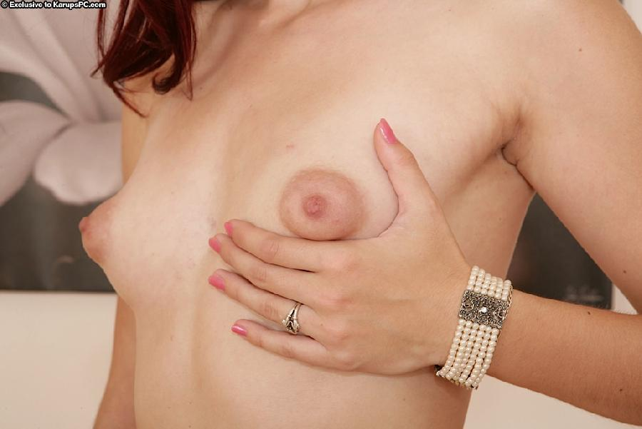 Hot redhead Michelle undressing - 4