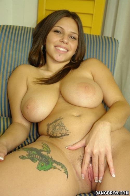 Huge natural titties - Karma - 18