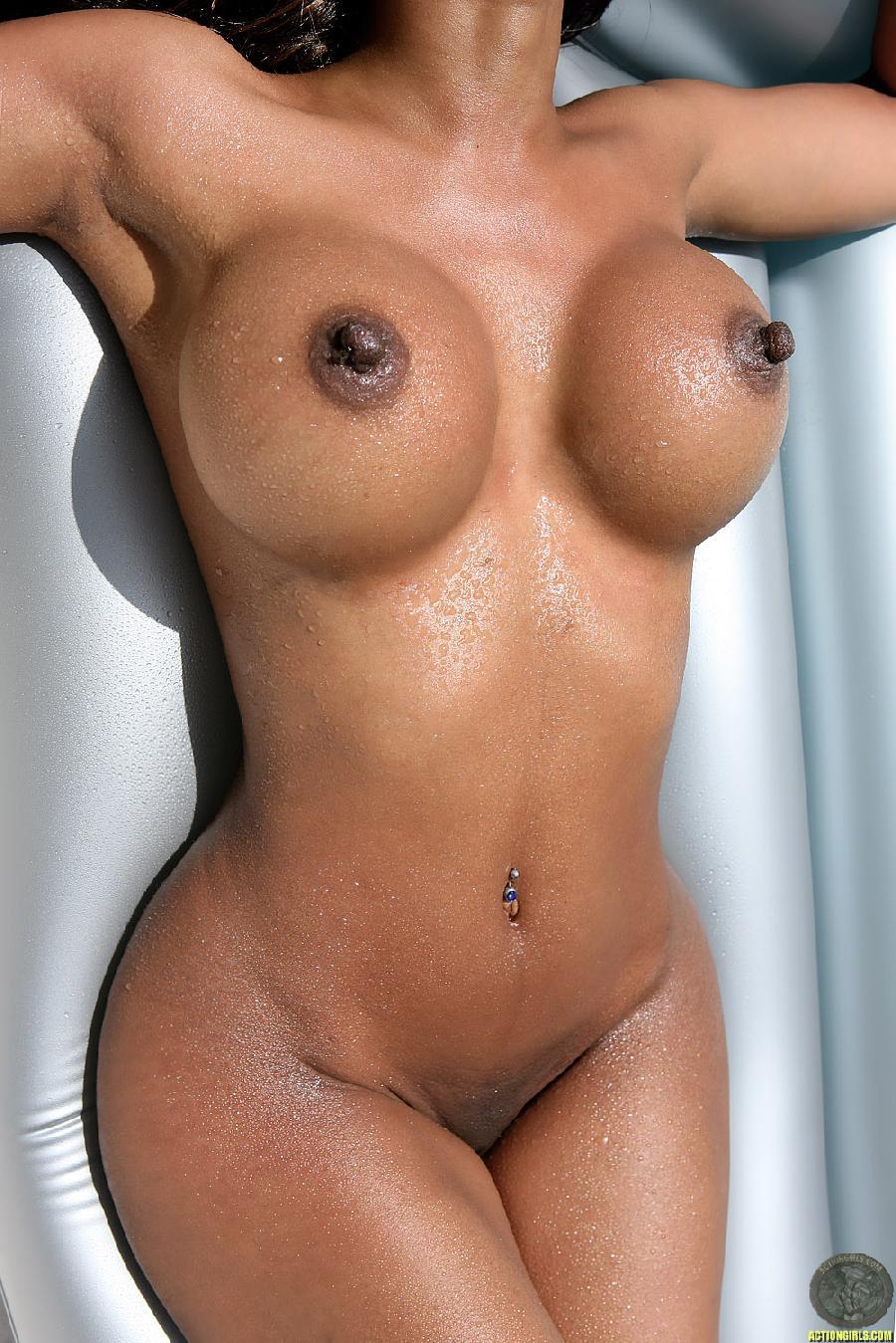 Sexy naked gator girl