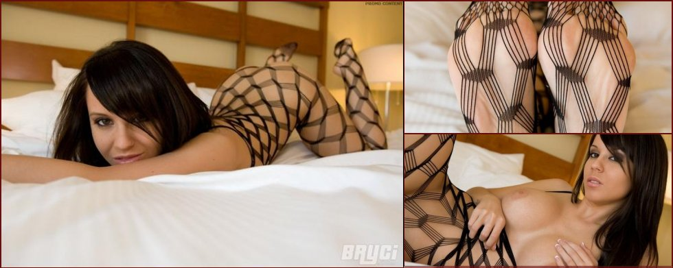 Sexy Bryci nude in body stocking - 33