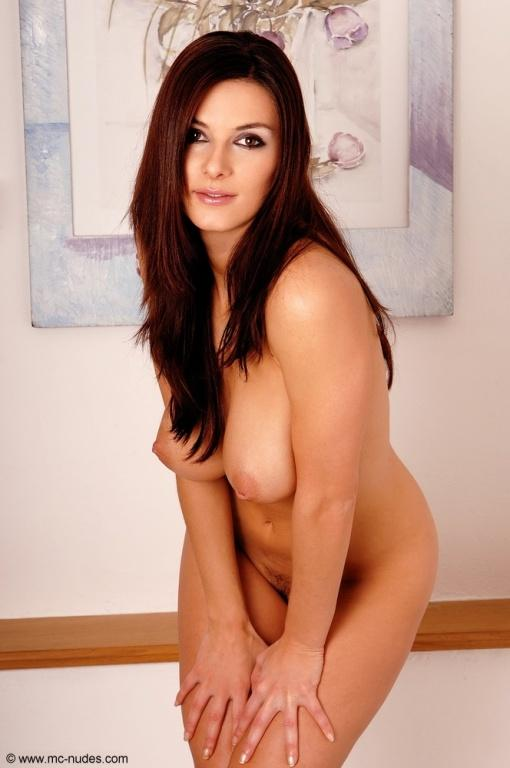 Nudes of a stunning brunette - Anita - 10