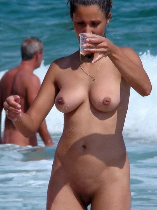 Pretty nudists on the beach - 10