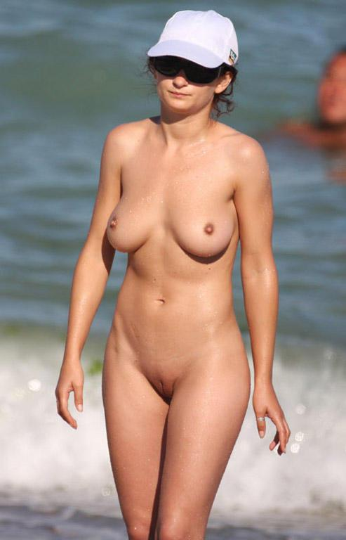 Pretty nudists on the beach - 13