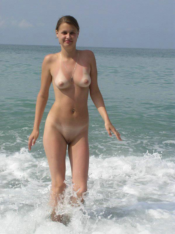 Pretty nudists on the beach - 2