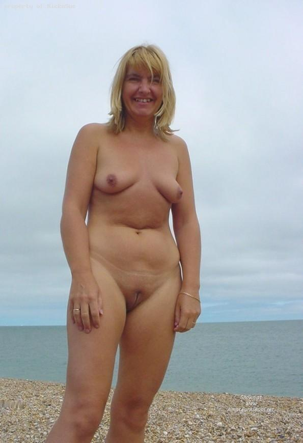 Pretty nudists on the beach - 20