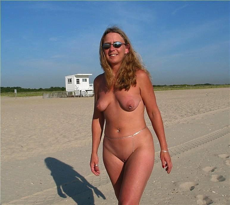 Pretty nudists on the beach - 27