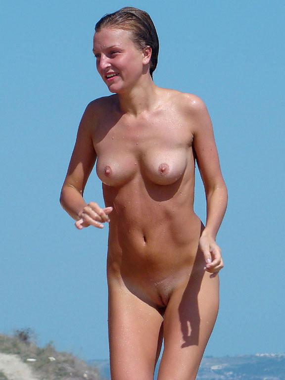 Pretty nudists on the beach - 28