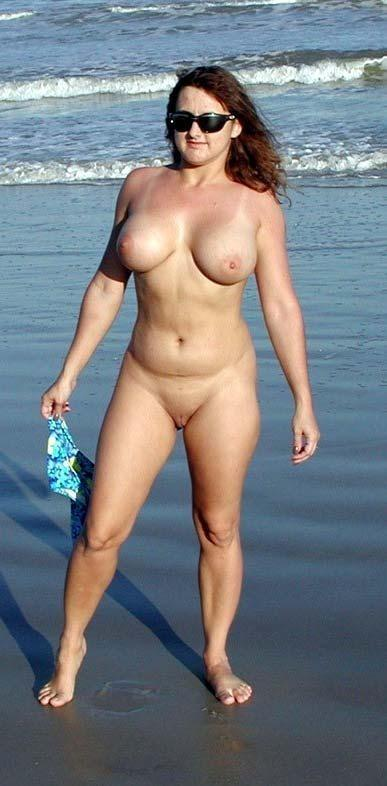 Pretty nudists on the beach - 31