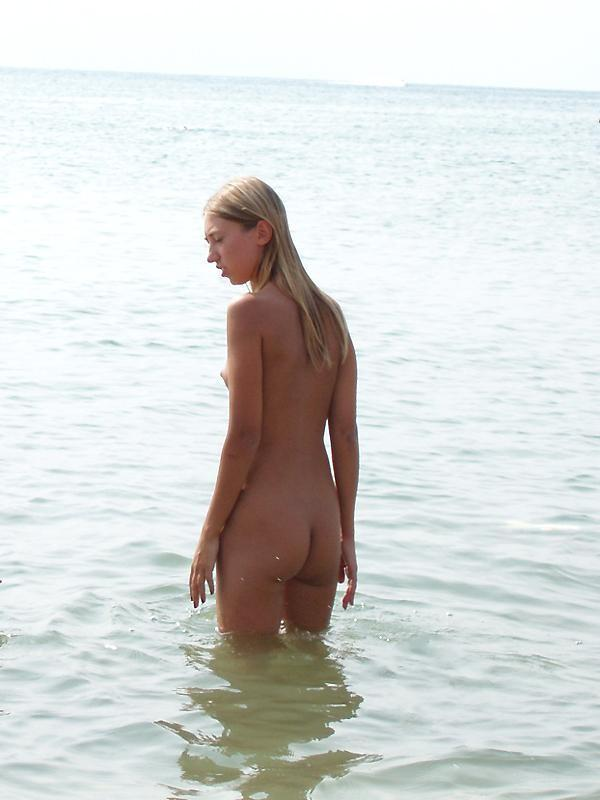 Pretty nudists on the beach - 32