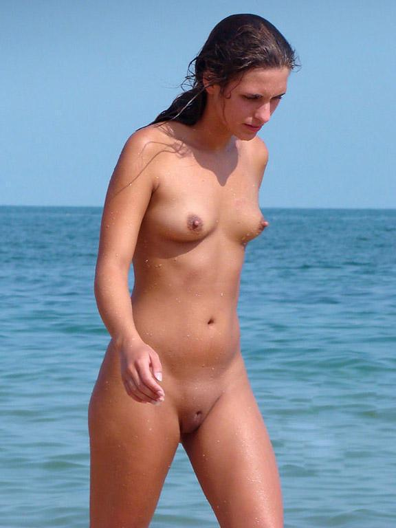 Pretty nudists on the beach - 33