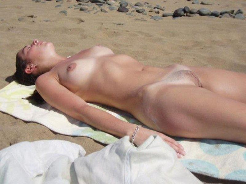 Pretty nudists on the beach - 39