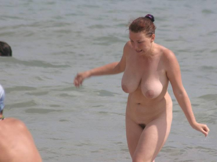Pretty nudists on the beach - 4