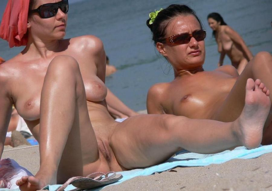Pretty nudists on the beach - 40