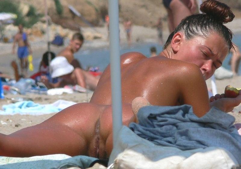 Pretty nudists on the beach - 41