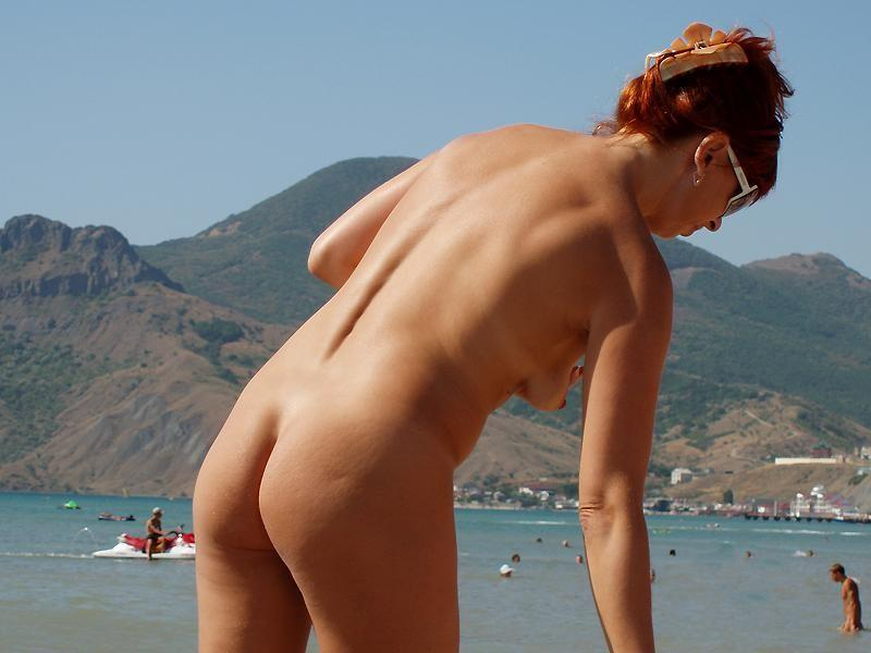 Pretty nudists on the beach - 42