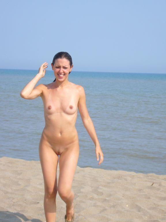 Pretty nudists on the beach - 8