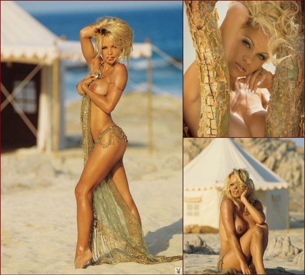 Pamela Anderson in Playboy - 17