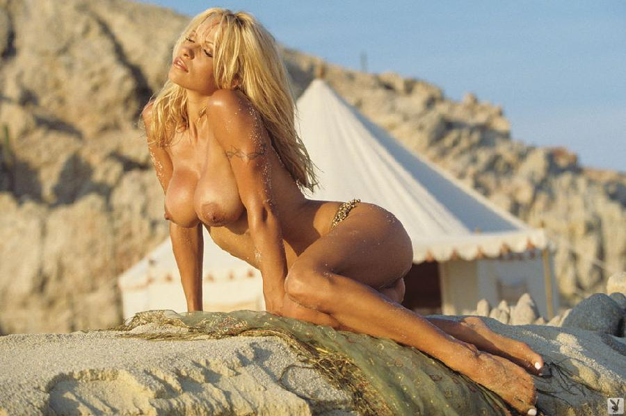Pamela Anderson in Playboy - 1