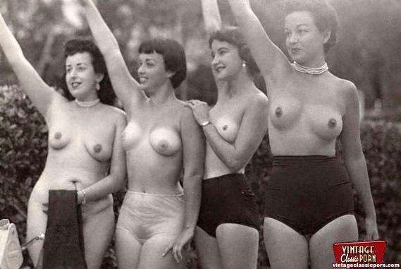 Retro erotica style pics - 3