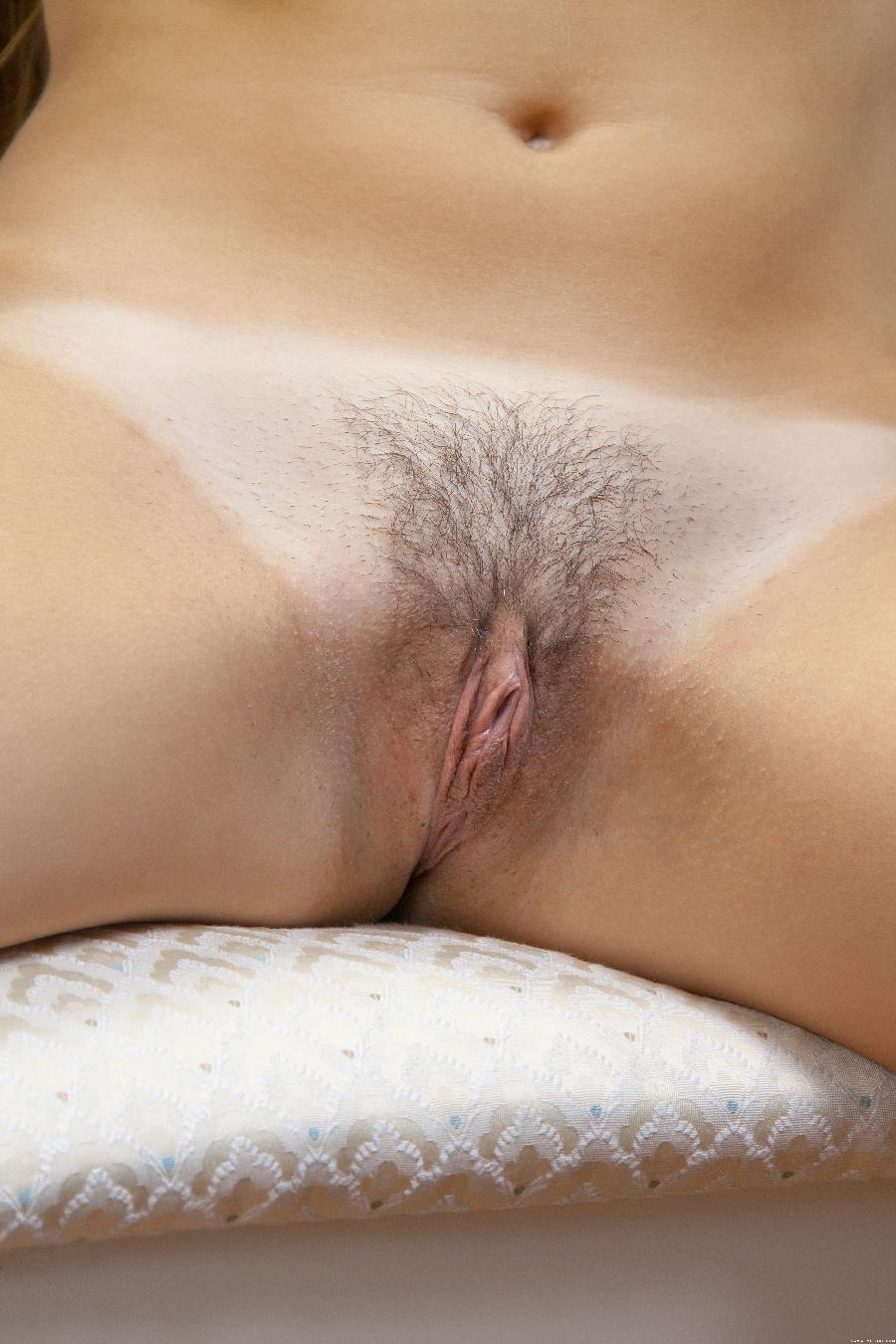 Pretty Sabina with hairy pussy - 5