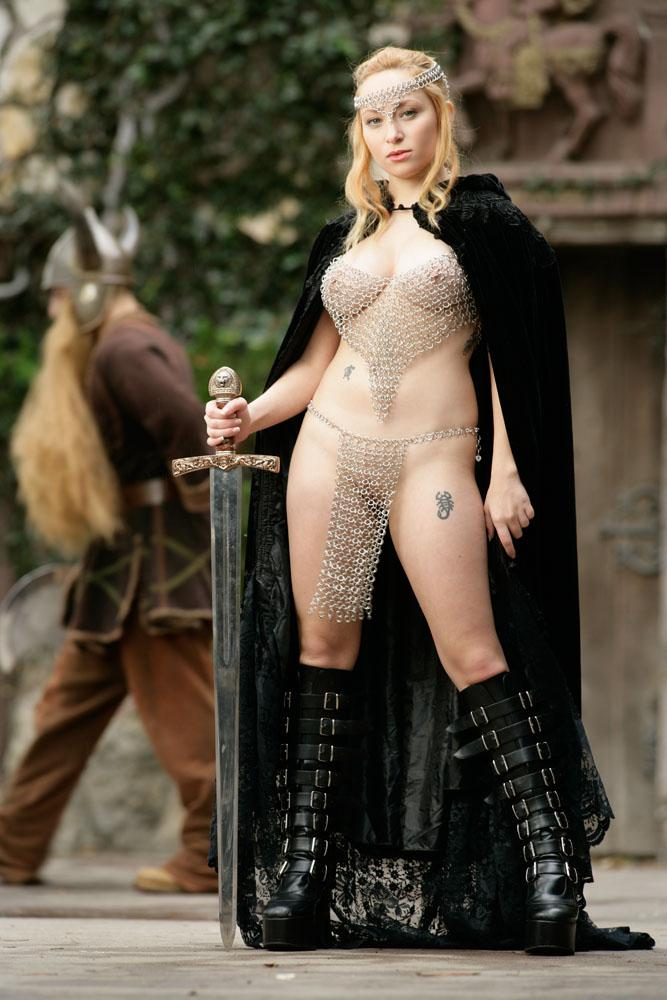Sexy castle guard Aiden Starr  - 11