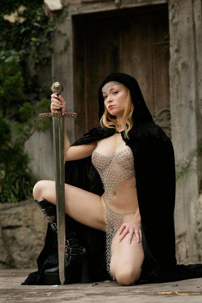Sexy castle guard Aiden Starr  - 9