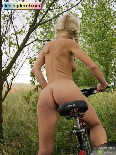 Naked girls on bikes  - 11