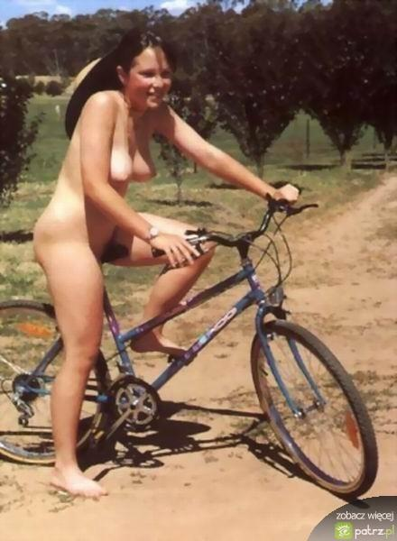 Naked girls on bikes  - 20