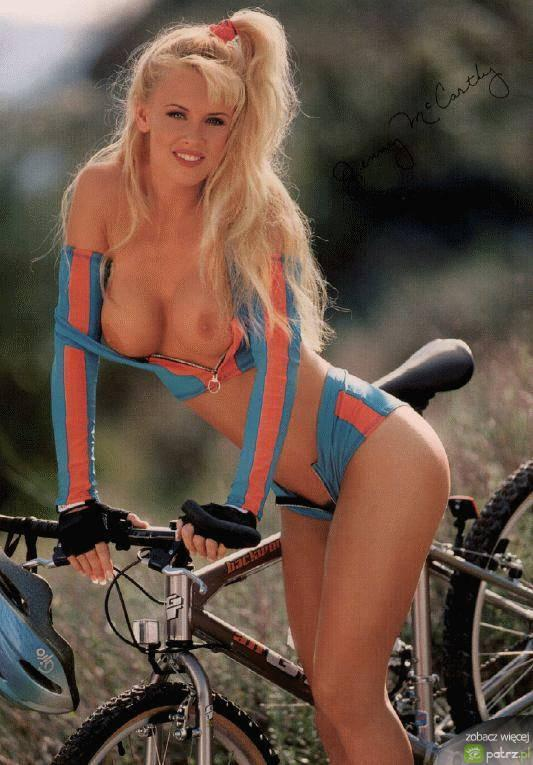Naked girls on bikes  - 5