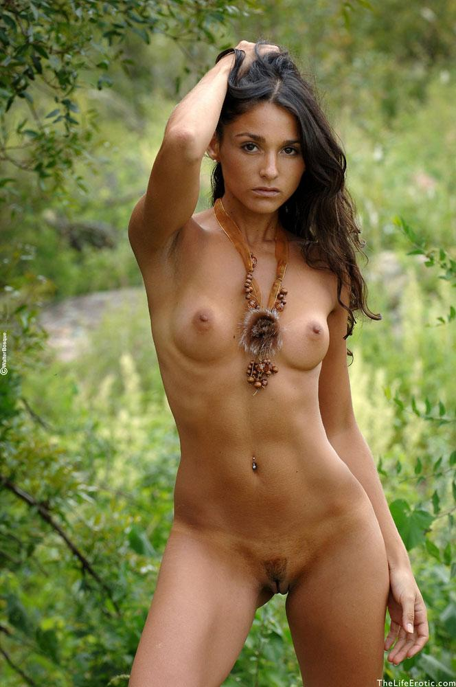 Wild jungle girl nude