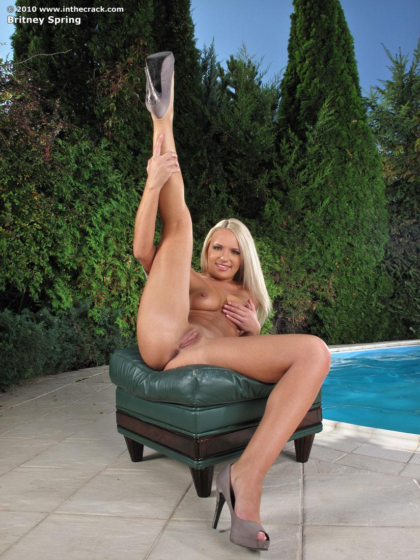 Britney Spring has fleshy pussy  - 11