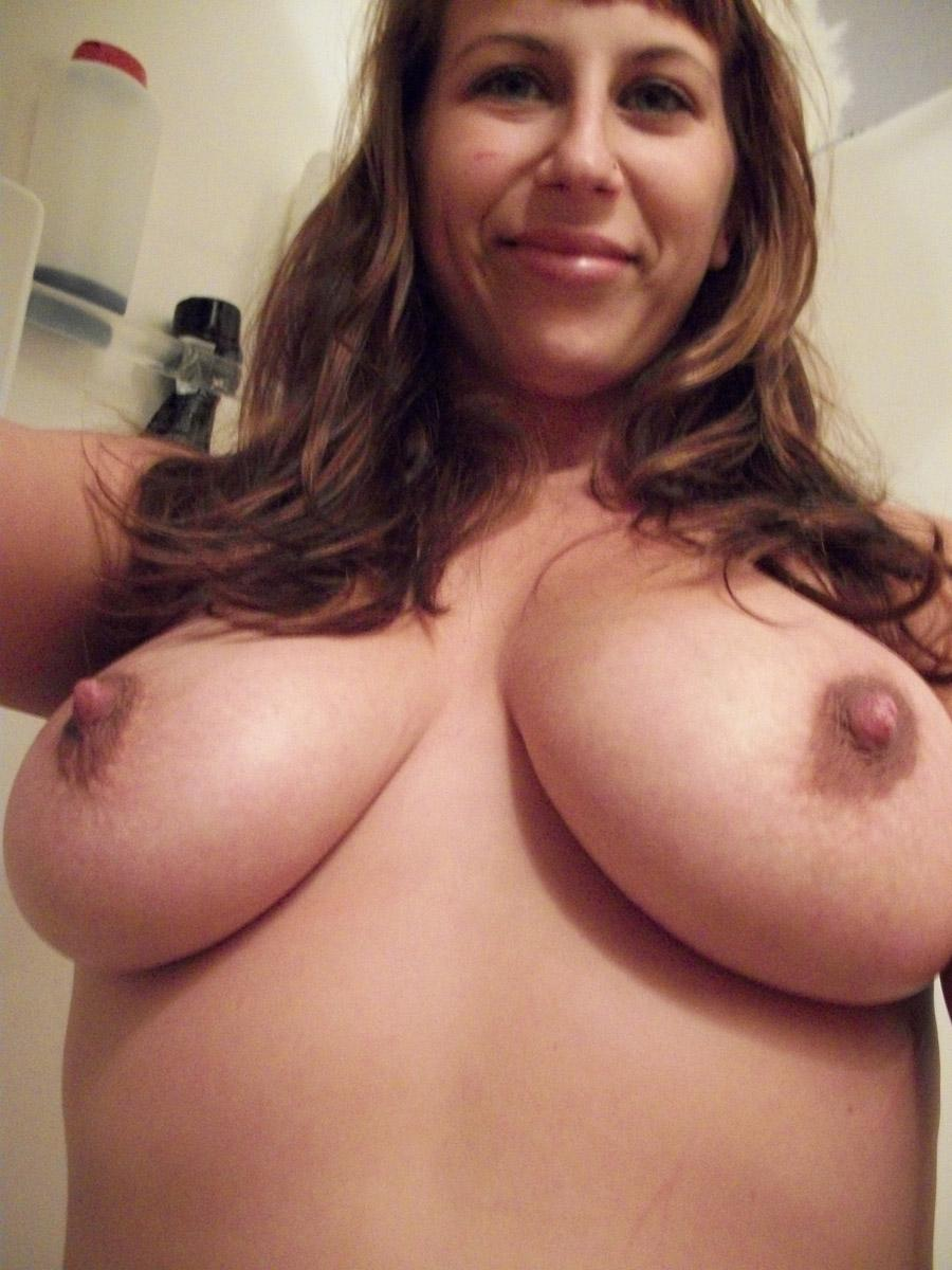 Big amateurs tits  - 13