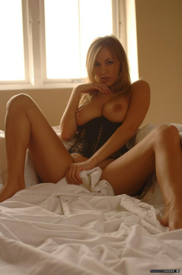 Hayley-Marie Coppin in bed  - 6