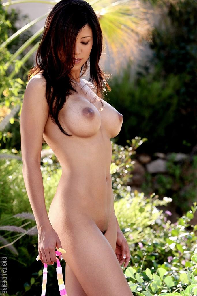Nude brunette hottie  - 13
