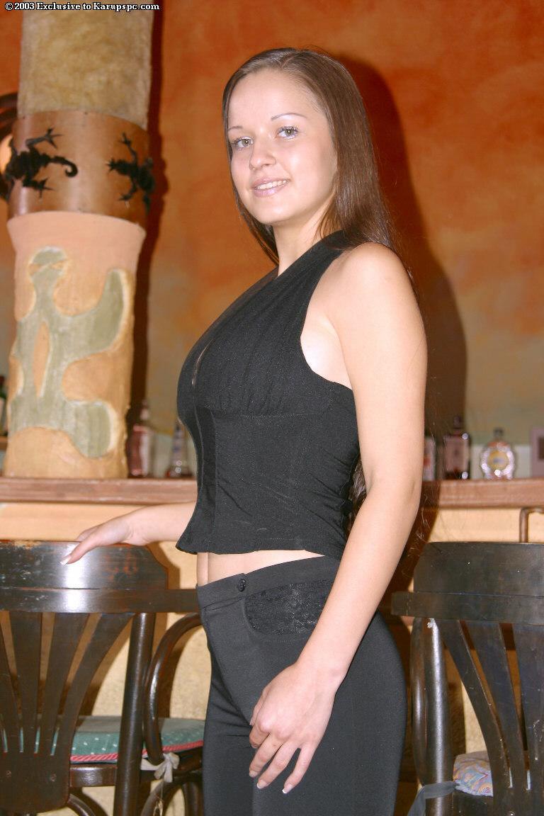 Lucie Nunvarova and her big tits  - 1