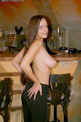 Lucie Nunvarova and her big tits