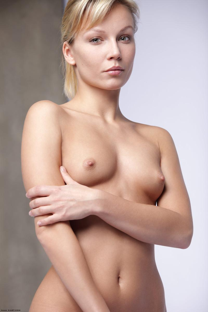 Sylvie Sinner has hard nipples  - 2